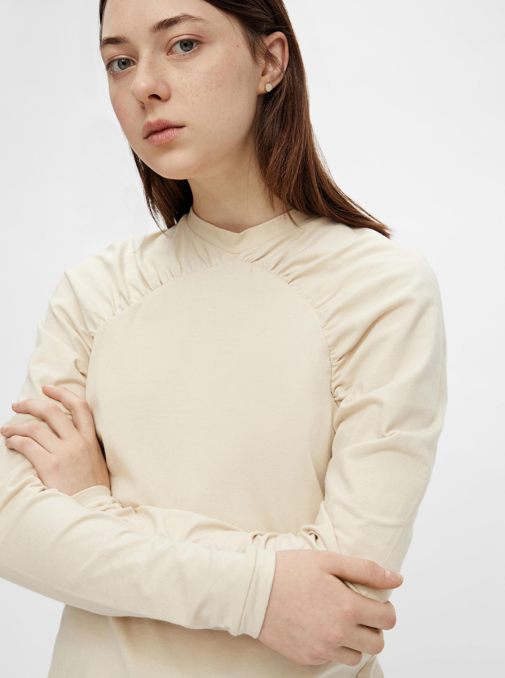 Pieces smantanii/crem de dama tricou