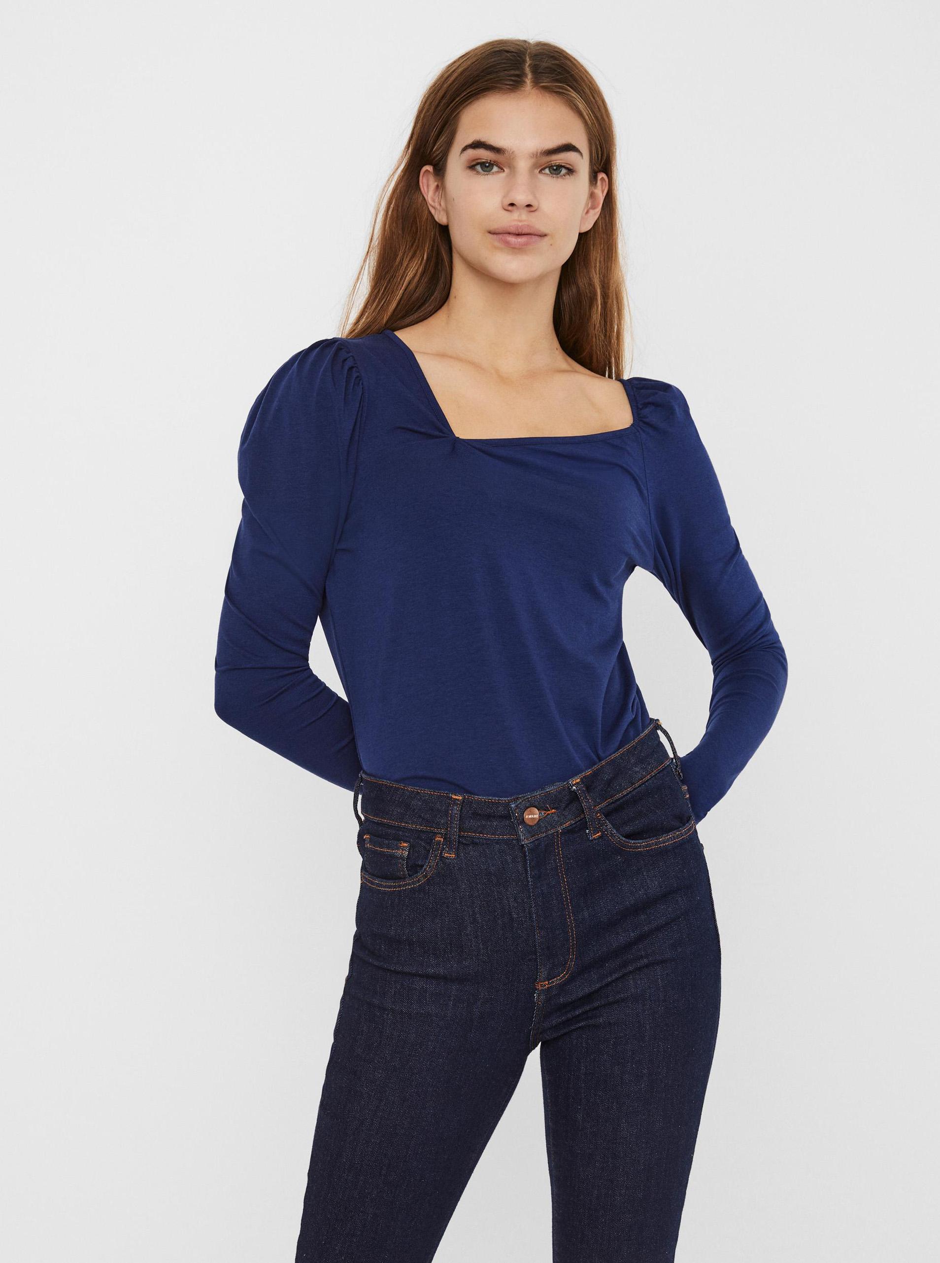 Vero Moda albastre tricou