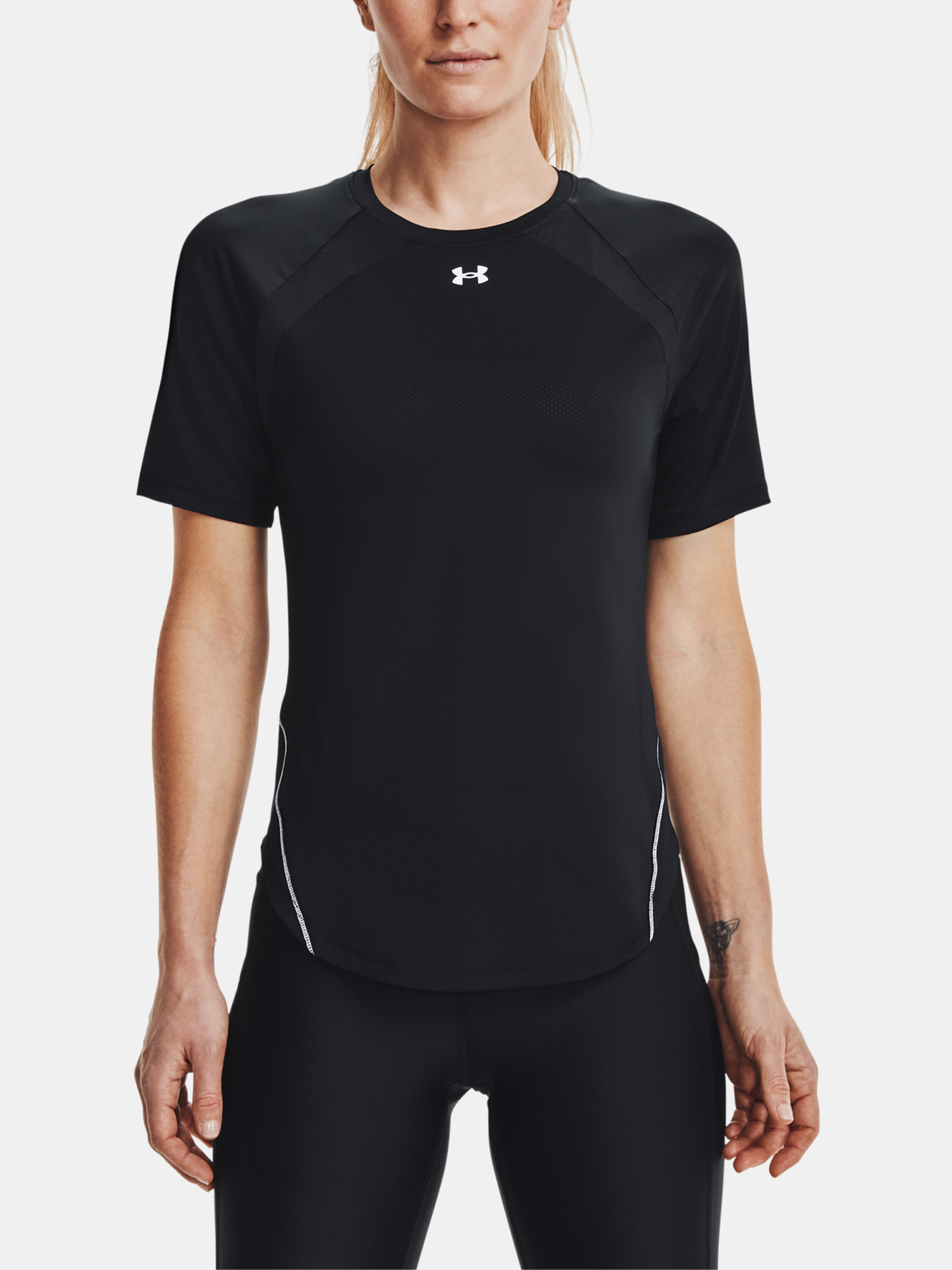 Under Armour de dama tricou Coolswitch SS-BLK