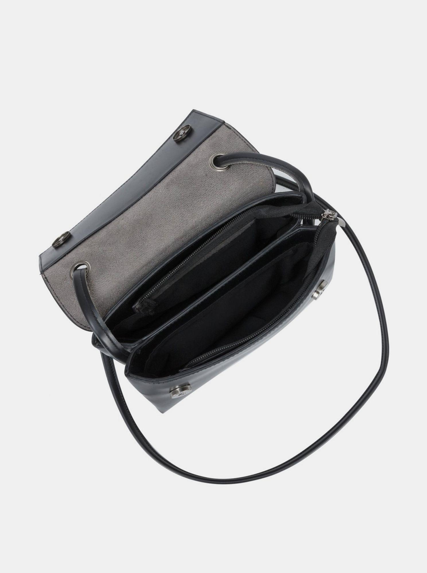 Claudia Canova negre crossbody geanta