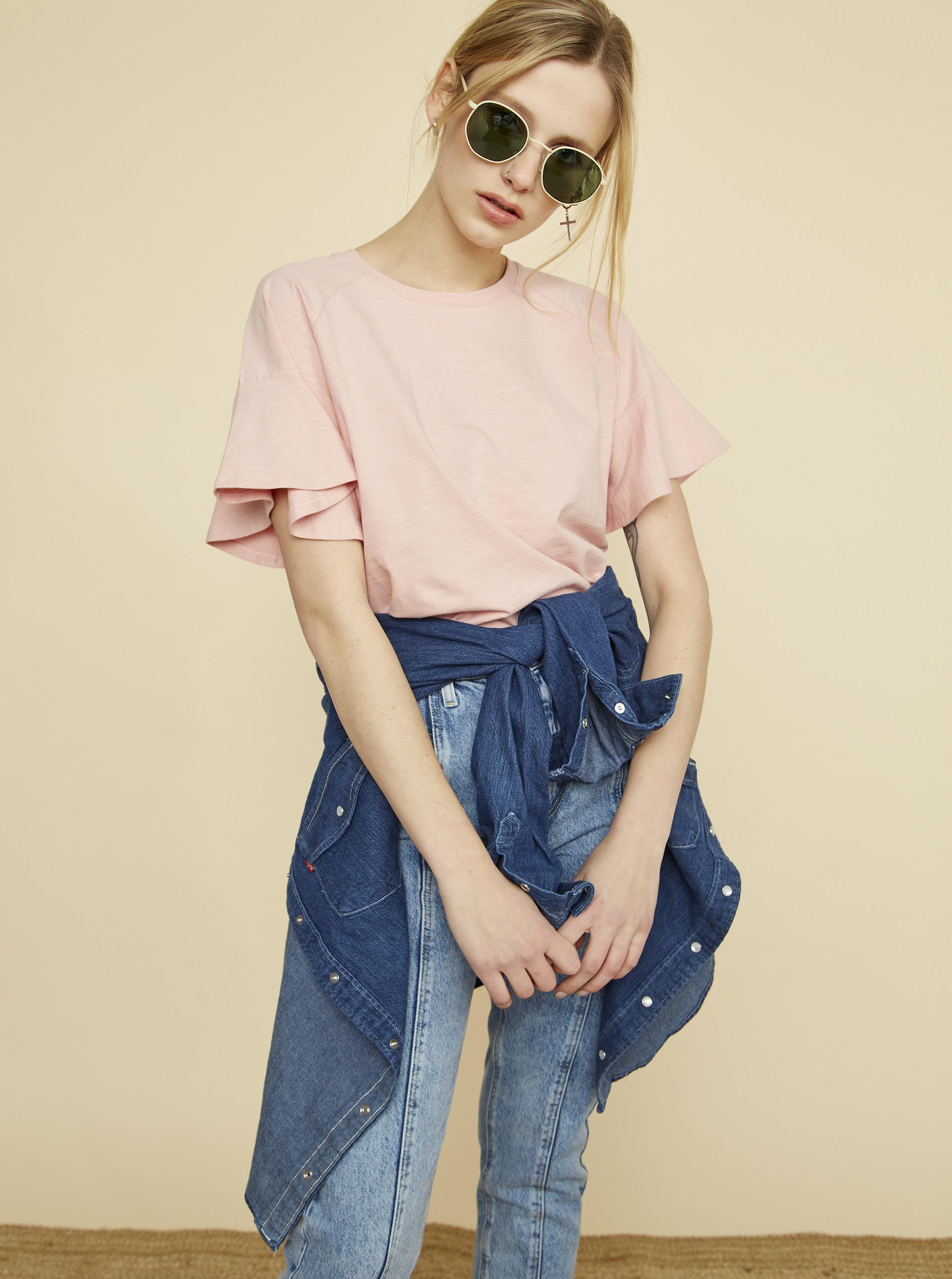 ZOOT roz de dama tricou Aurelia