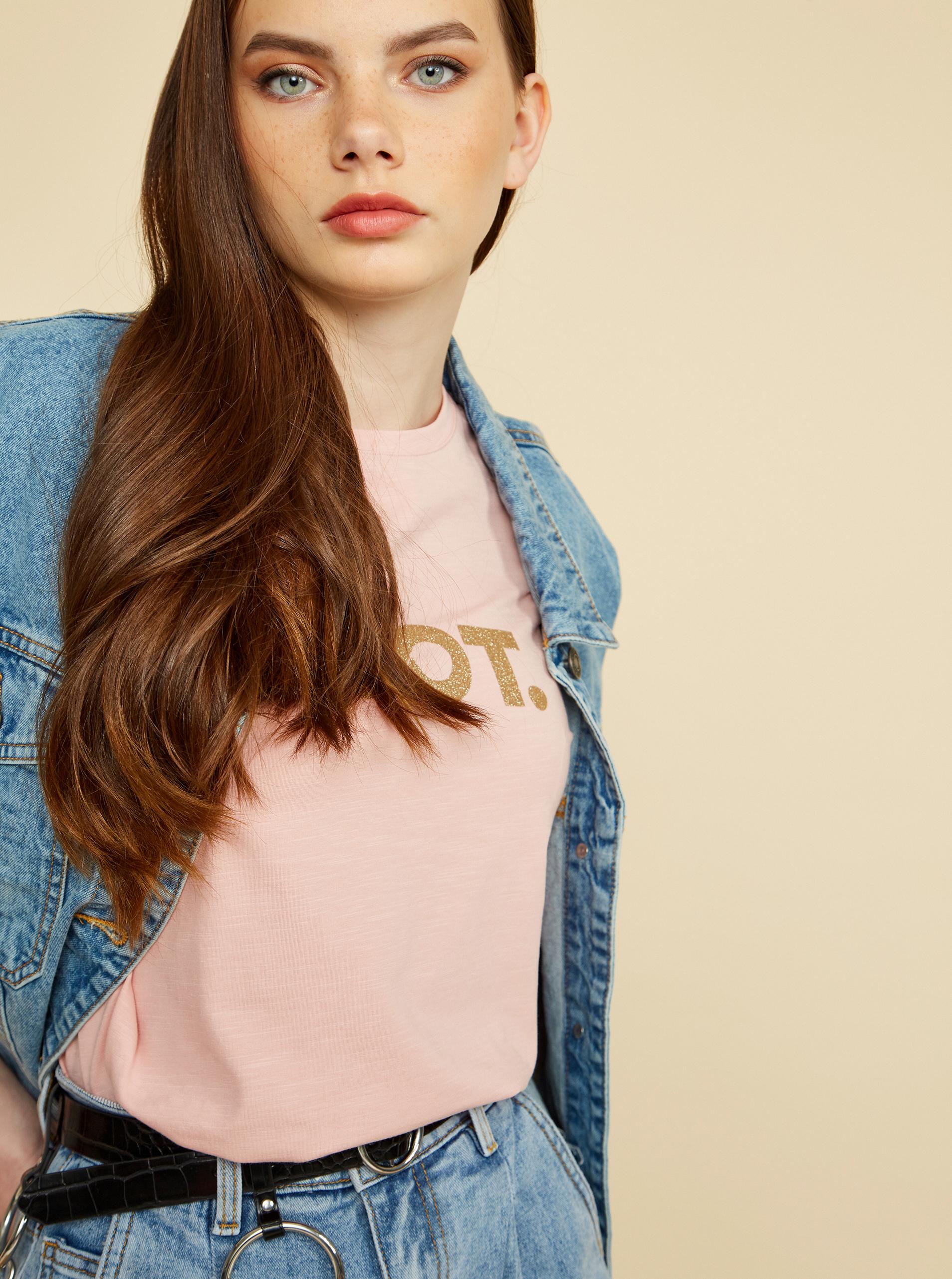 ZOOT roz de dama tricou Lucy cu imprimeu