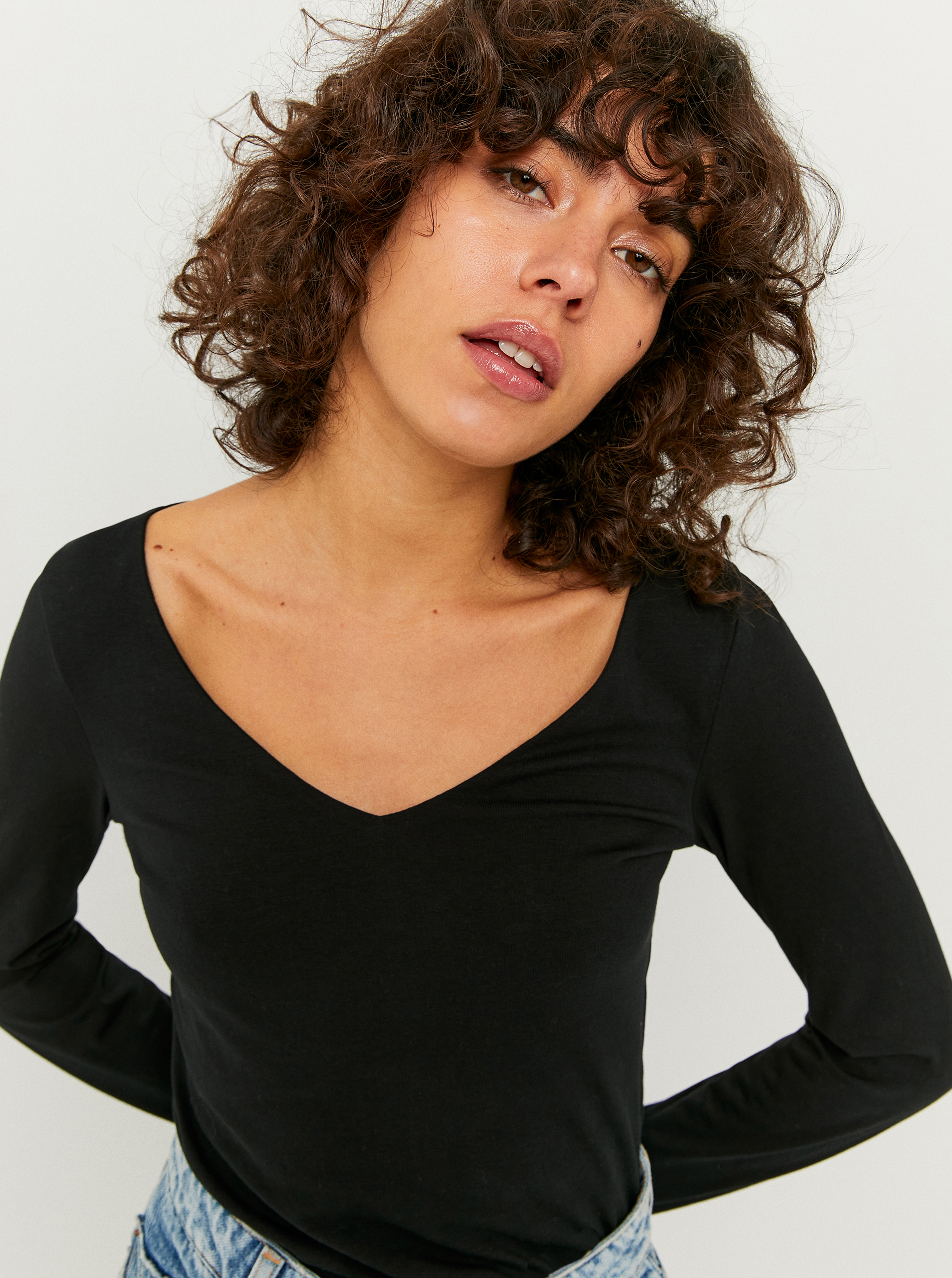 Tally Weijl negre de dama tricou