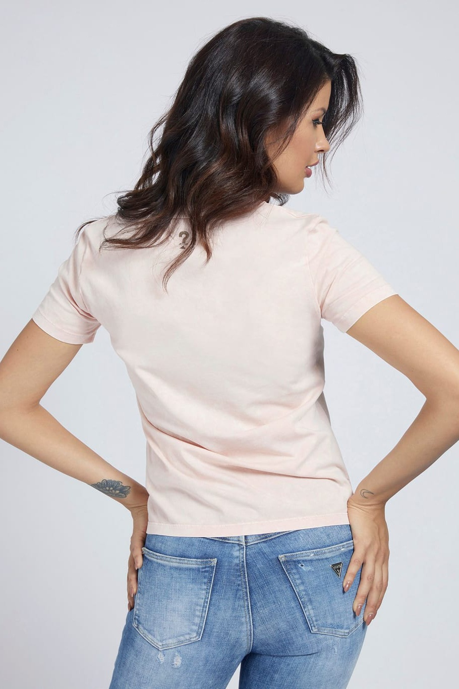 Guess tricou Placed Print