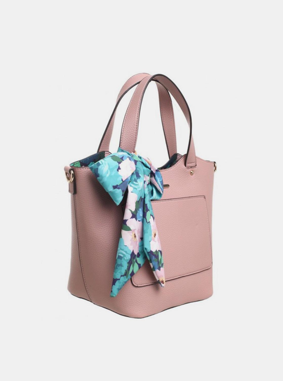 Bessie London roz 3in1 geanta