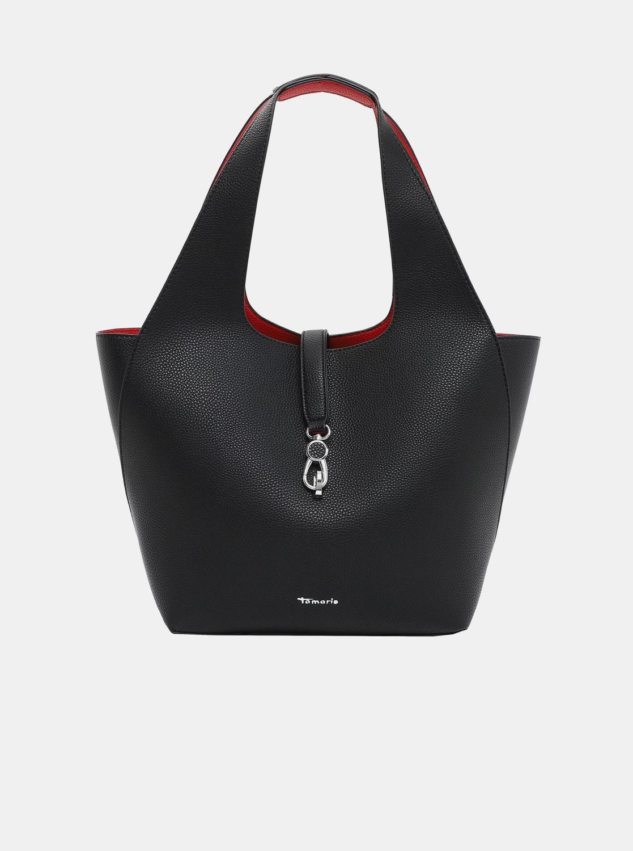Tamaris negre reversibil shopper
